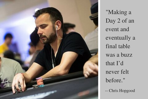 Ever wondered what it's like to play your first big PokerStars event?